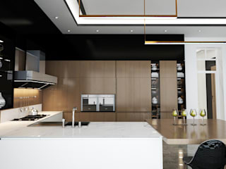 Loop Projects Modern style kitchen