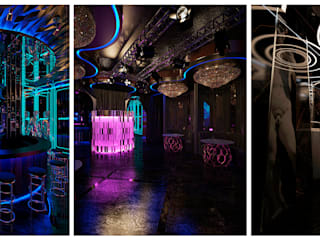 Дизайн интерьера общественных помещений Бары и клубы в стиле модерн от Design Studio «INTERIO» Модерн