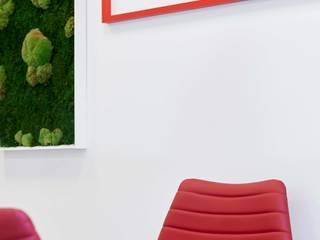FUTURE AGE Complesso d'uffici moderni di Flussocreativo Design Studio Moderno