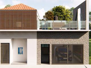 Ampliación, remodelación y piscina col. caribe de Arquitectura + Diseño Proyectual Moderno