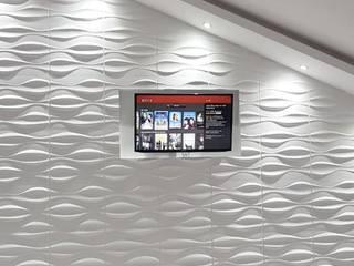 PANEL 3D PVC de Muro Moderno