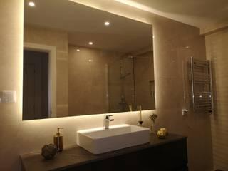 Remodelação de casa de banho Casas de banho modernas por KR Home - Obras e remodelações Moderno