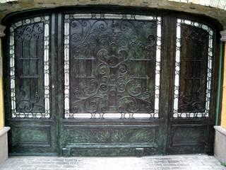 DIMARQ® espacios arquitectónicos Sliding doors Iron/Steel Green