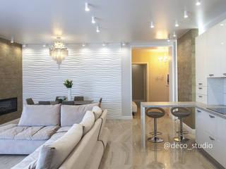 Жилая квартира в современном стиле от Интерьер-студия ДЕКО