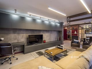 Квартира в стиле ЛОФТ от Интерьер-студия ДЕКО