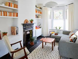 Earsfield House Modern living room by VORBILD Architecture Ltd. Modern