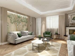 A.K. VİLLA PROJESİ Modern Oturma Odası Eyüp Atalay Design Studio Modern