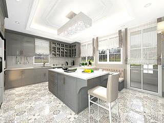 A.K. VİLLA PROJESİ Modern Mutfak Eyüp Atalay Design Studio Modern