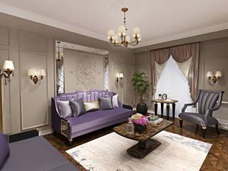 B.P Evi Klasik Oturma Odası Eyüp Atalay Design Studio Klasik