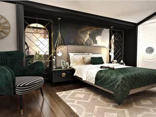 B.P Evi Klasik Yatak Odası Eyüp Atalay Design Studio Klasik