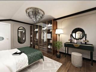 B.P Evi Klasik Giyinme Odası Eyüp Atalay Design Studio Klasik