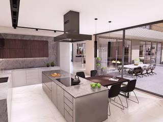 Villa 206 - İç Mekan Tasarımı, Bursa Modern Mutfak CM² Mimarlık ve Tasarım Stüdyosu Modern