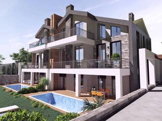 Teras Loft Villa - Mimari Tasarım, Nilüferköy-Bursa CM² Mimarlık ve Tasarım Stüdyosu Modern
