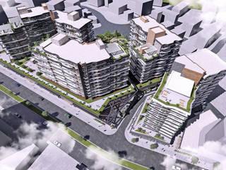 Vista Teras 385 - Karma Yapı, Bursa Modern Balkon, Veranda & Teras CM² Mimarlık ve Tasarım Stüdyosu Modern