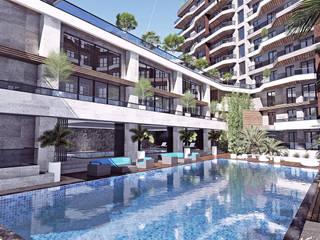 Vista Teras 385 - Karma Yapı, Bursa Modern Havuz CM² Mimarlık ve Tasarım Stüdyosu Modern