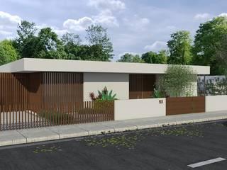 Projeto/Modelação-Foto realismo Casas modernas por Murant - Arquitetura | Engenharia & Design, Lda. Moderno