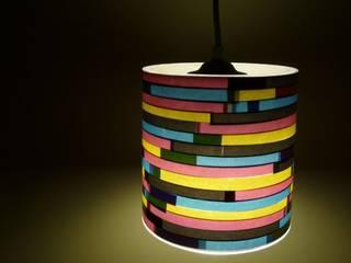 P-001 COLORS OF REUSING SalonEclairage Papier Multicolore