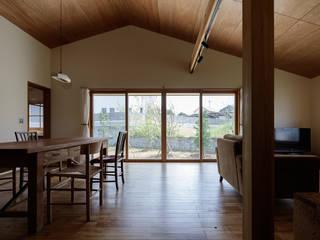 Modern dining room by 株式会社 井川建築設計事務所 Modern