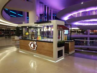 Bursa Korupark Avm, M Chocolate Stant Tasarımı ve Uygulama CM² Mimarlık ve Tasarım Stüdyosu Modern