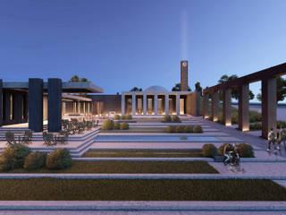 Cami Tasarımı Fikir Yarışması, Eşdeğer Mansiyon Ödülü CM² Mimarlık ve Tasarım Stüdyosu Modern
