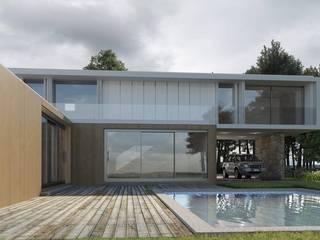 Habitação Unifamiliar GJ por Paulo Gomes, arquitectura Minimalista