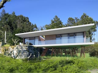 Habitação Unifamiliar VB por Paulo Gomes, arquitectura Minimalista