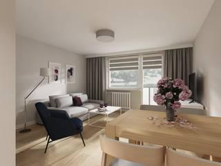 Scandinavian style living room by Better Home Interior Design Scandinavian