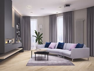 Salas de estar modernas por Better Home Interior Design Moderno