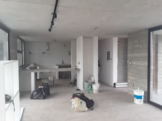 Casa Lisandro Livings modernos: Ideas, imágenes y decoración de Zima Arquitectura Moderno