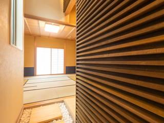 小郡の家 和風デザインの 多目的室 の 一級建築士事務所(株)一関技建 和風