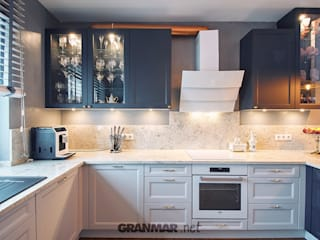 GRANMAR Borowa Góra - granit, marmur, konglomerat kwarcowy CocinaEncimeras Granito Blanco