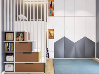 ArchSia – Çocuk Odası Tasarımı: modern tarz , Modern