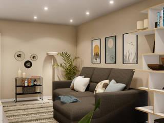 A Casa da Cidade Salas de estar modernas por Rima Design Moderno