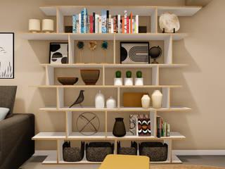 A Casa da Cidade Rima Design Salas de estar modernas