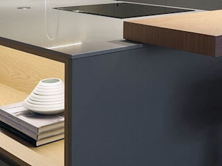 MANUEL GARCÍA ASOCIADOS Built-in kitchens Grey
