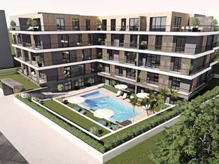 Mudanya, Güzelyalı Konut Projesi Modern Evler CM² Mimarlık ve Tasarım Stüdyosu Modern