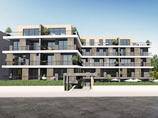 Mudanya, Güzelyalı Konut Projesi CM² Mimarlık ve Tasarım Stüdyosu Modern