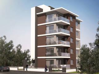 Mumcu İnşaat, 1. Etap Modern Evler CM² Mimarlık ve Tasarım Stüdyosu Modern