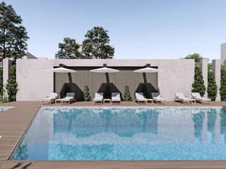 Mumcu İnşaat, 3. Etap Modern Havuz CM² Mimarlık ve Tasarım Stüdyosu Modern