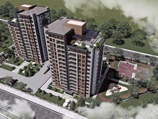 Memur-Sen Konutları, Uşak Modern Evler CM² Mimarlık ve Tasarım Stüdyosu Modern
