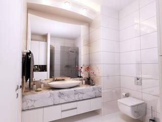 Güntaş Dülgeroğlu Sitesi, Uşak Modern Banyo CM² Mimarlık ve Tasarım Stüdyosu Modern