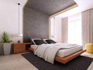 Güntaş Dülgeroğlu Sitesi, Uşak Modern Yatak Odası CM² Mimarlık ve Tasarım Stüdyosu Modern