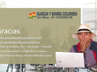 GUADUA Y BAMBU COLOMBIA Country house