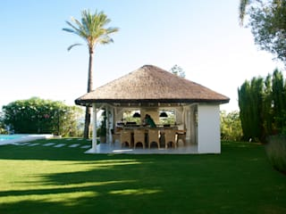 Bottanicca Landscape Architects Studio Marbella Pondok taman
