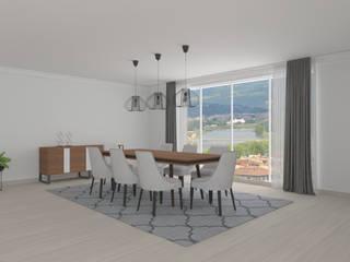 Projeto 3D - Sala Estar e Sala de Jantar por designed