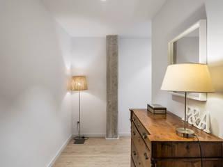 Vivienda PyA Pasillos, vestíbulos y escaleras de estilo moderno de Destudio Arquitectura Moderno