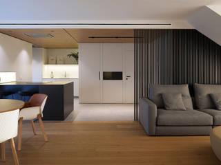 Modern living room by MANUEL GARCÍA ASOCIADOS Modern
