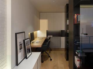 Phòng học/văn phòng phong cách hiện đại bởi MANUEL GARCÍA ASOCIADOS Hiện đại
