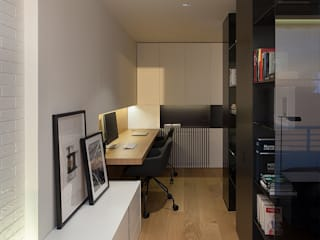 Modern study/office by MANUEL GARCÍA ASOCIADOS Modern