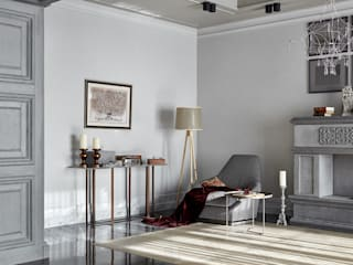 Современный замок Гостиная в стиле минимализм от IDEAS CLUB Минимализм